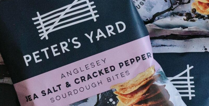 Peter's Yard Sea Salt & Black Pepper Sourdough Bites 90g