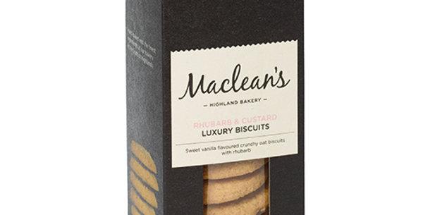 Maclean's Rhubarb and Custard Luxury Biscuits - 150g
