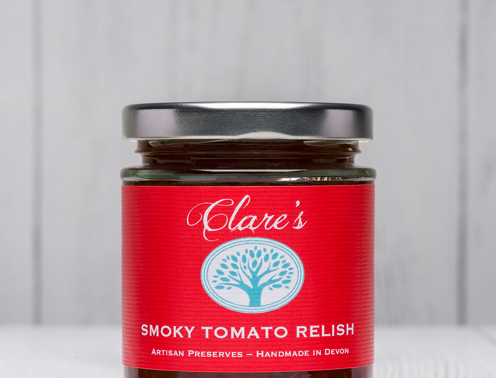 Clare's Preserves - Smoky Tomato Relish - 200g