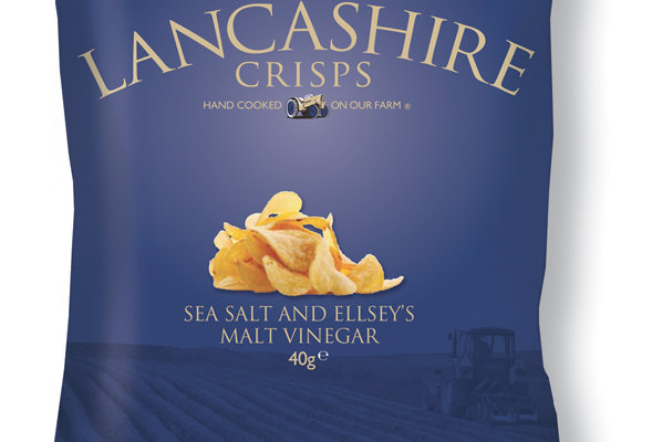 Fiddler's Lancashire Crisps - Salt & Vinegar - 40g