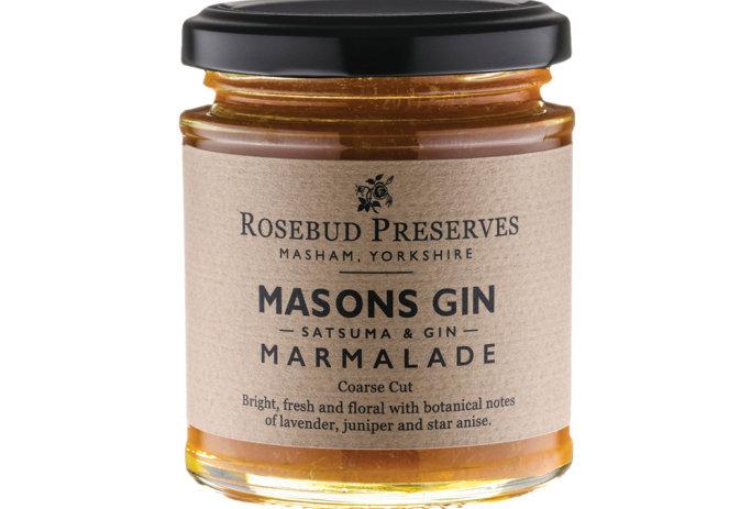 Rosebud Preserves - Masons Satsuma & Gin Marmalade