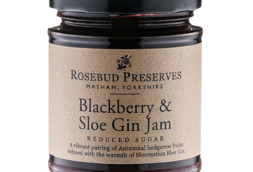 Rosebud Preserves -  Blackberry & Sloe Gin Jam