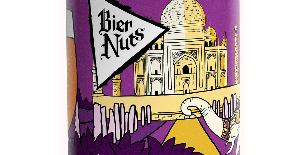 Bier Nuts - Masala Crunchy Coated Peanuts - 45g x 6