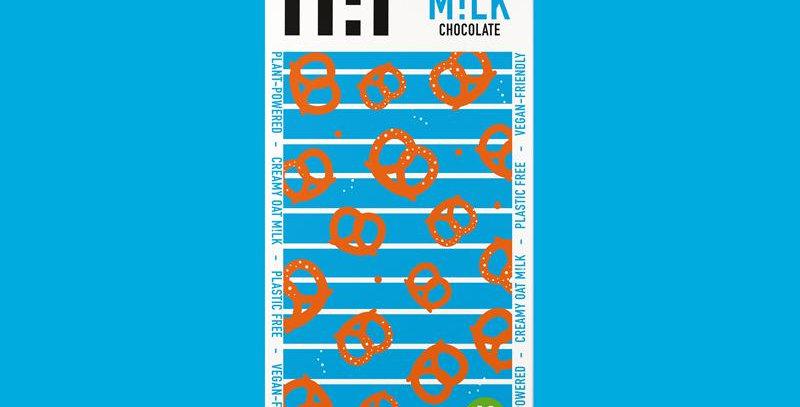 H!P Salty Pretzel Oat Milk Chocolate Bar - 70g