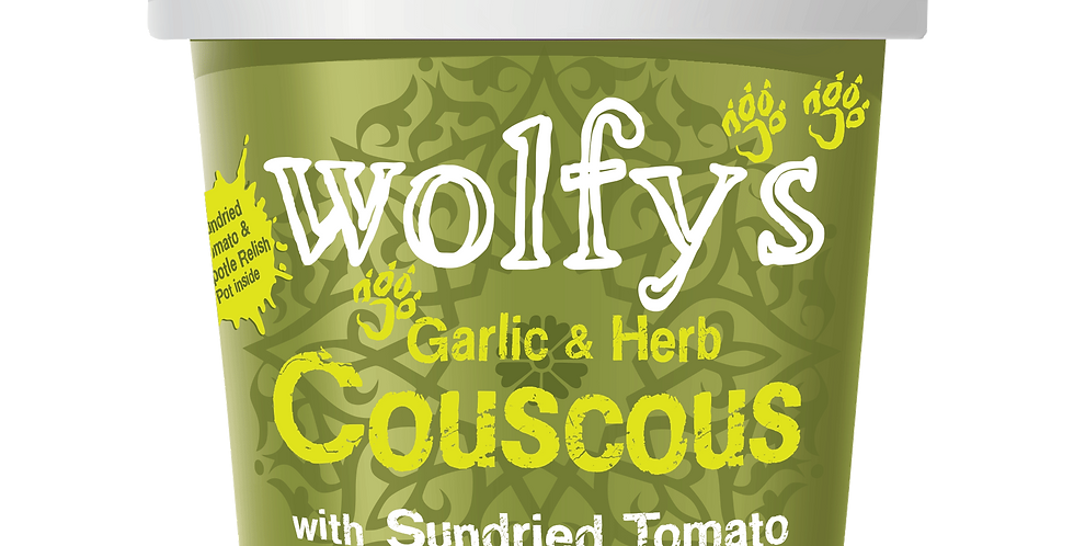 Wolfys - Garlic & Herb Couscous - 96g