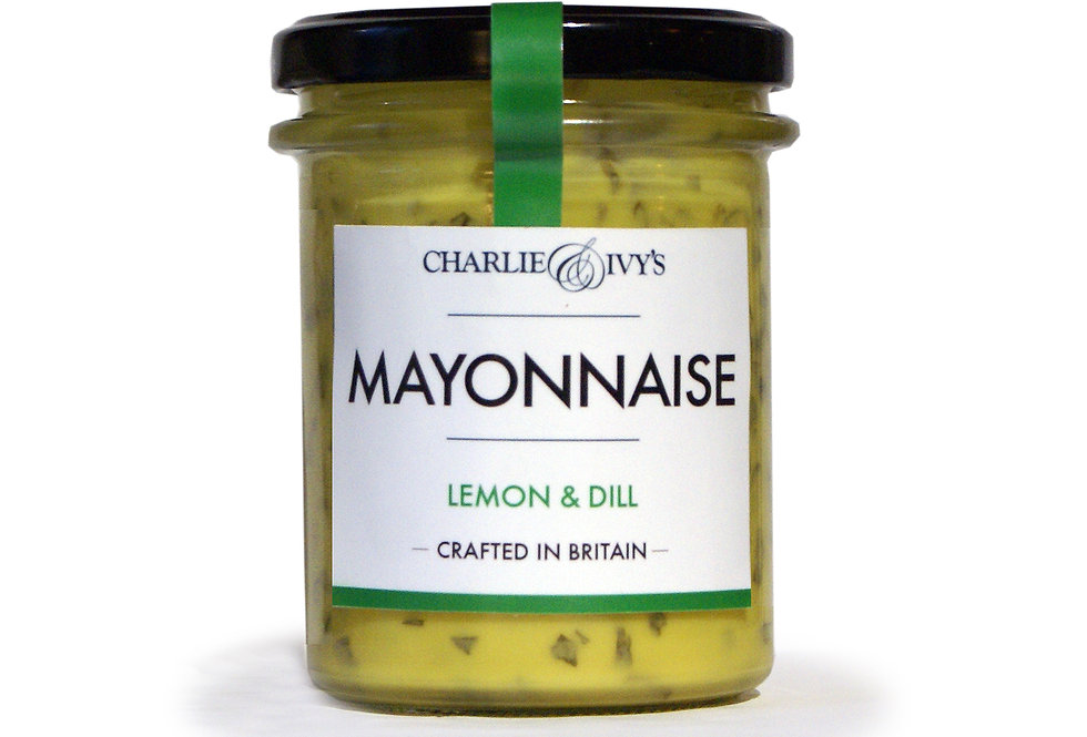 Charlie & Ivy's Lemon and Dill Mayonnaise - 190g