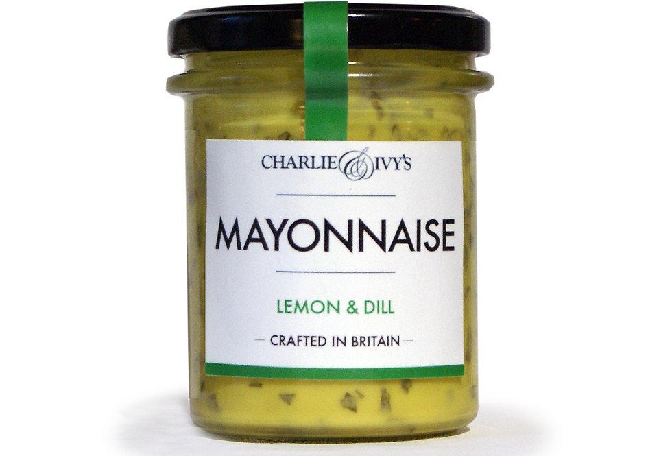 Charlie & Ivy's Lemon and Dill Mayonnaise - 190g