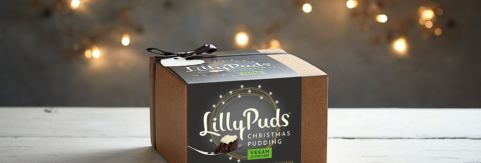 Premium Vegan & Gluten Free Christmas Pudding - 454g