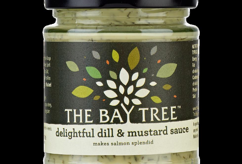 The Bay Tree - Dill & Mustard Sauce - 170g