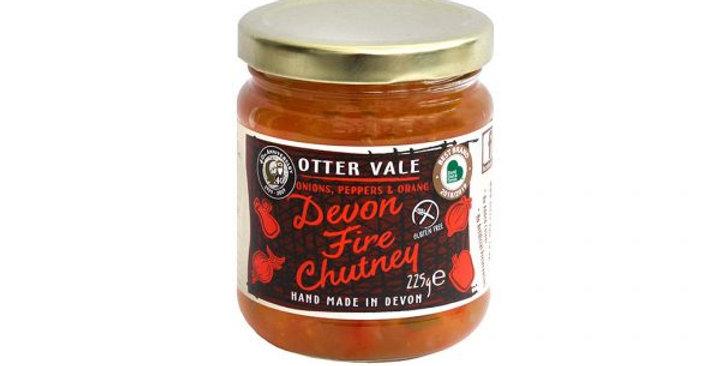 Otter Vale Devon Fire Chutney 225g