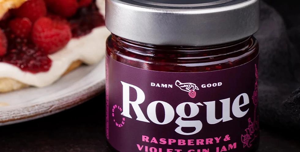 Rogue - Raspberry & Violet Gin Jam - 280g