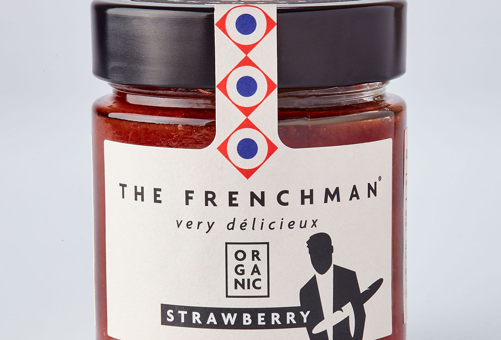 The Frenchman - Organic Strawberry Fruit Spread - 260g