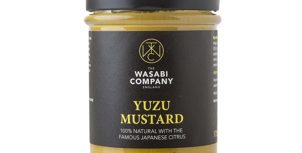 Wasabi Label - Yuzu Mustard - 175g