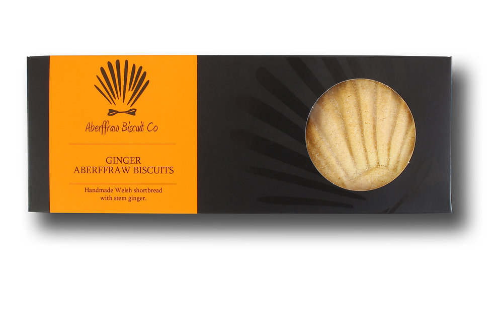 Ginger Aberffraw Biscuits - 205g