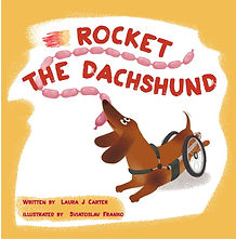 Cover single front -  Rocket the Dachshu