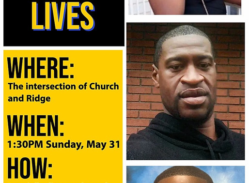 Evanston Fight for Black Lives March and Rally on 5/31/20