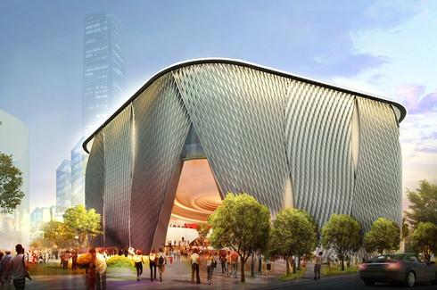 Xiqu Theater at WKCDA, Hong Kong
