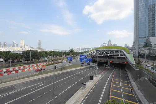 Central-Wanchi Bypass, Hong Kong