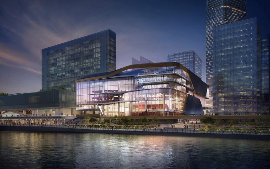 香港西九文化区演艺综合剧场