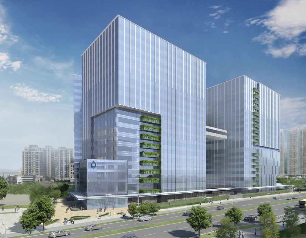 Design and Construction of Immigration Headquarters in Area 67, Tseung Kwan O, HK