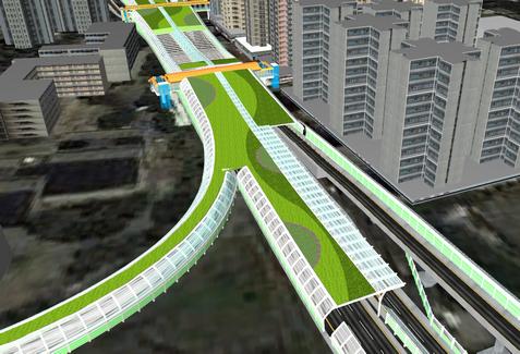 Tuen Mun Road Town Centre Section