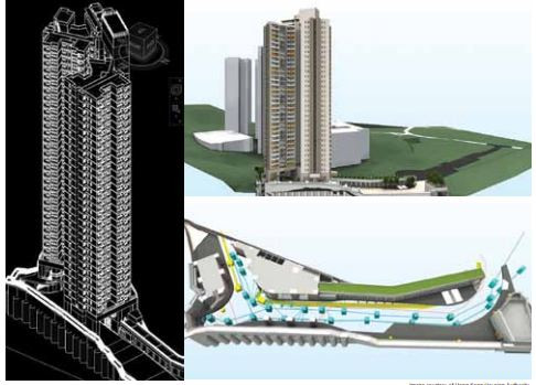 Autodesk BIM Award 2013  Client: Hong Kong Housing Authority  Projects 1: Construction of Home Ownership Scheme at Hin Tin Street, Sha Tin Area 31  Type: Public housing  Scheduled time of completion: Early 2018