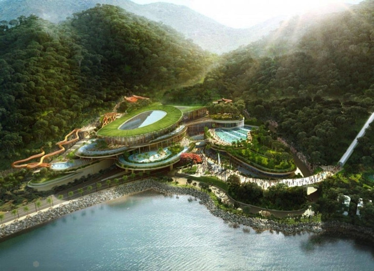 香港海洋公园大树湾水上乐园