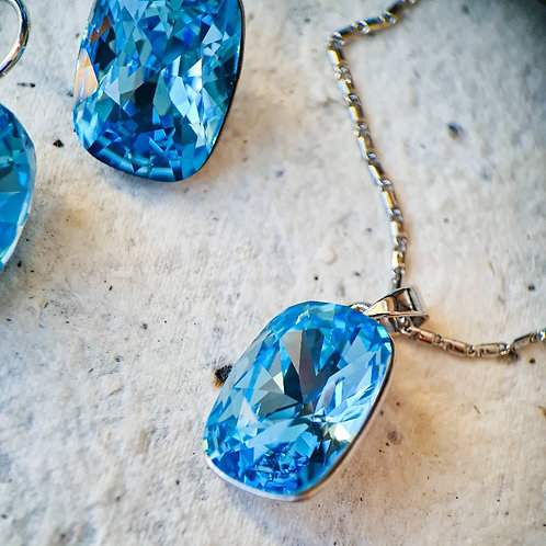 Conjunto Cristal Azul