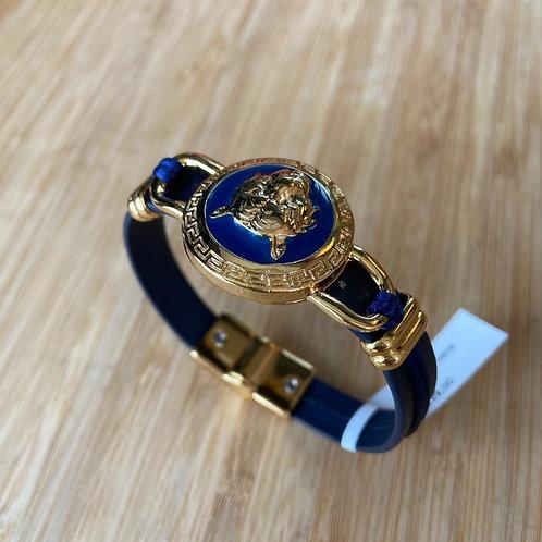 Bracelete Leopardo Azul