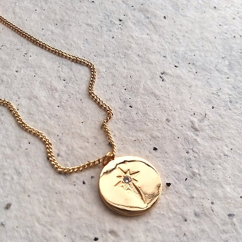 Colar Medalhão Estrela