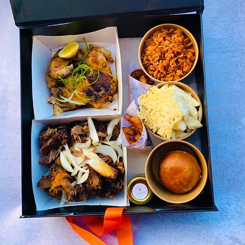 Black History Month Soul Food Spiced Grill Grazing Boxes