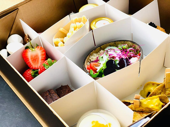 Black History Month Soul Food Vegetarian Grazing Boxes