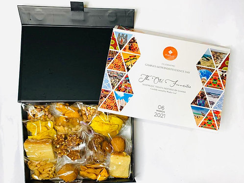 The Old Favourites - Nostalgic Treats Inspired By Ghana -