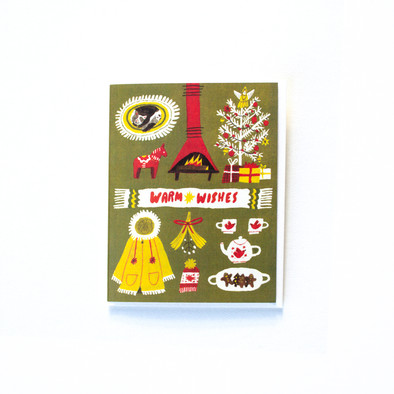Holiday Card - Warm Wishes
