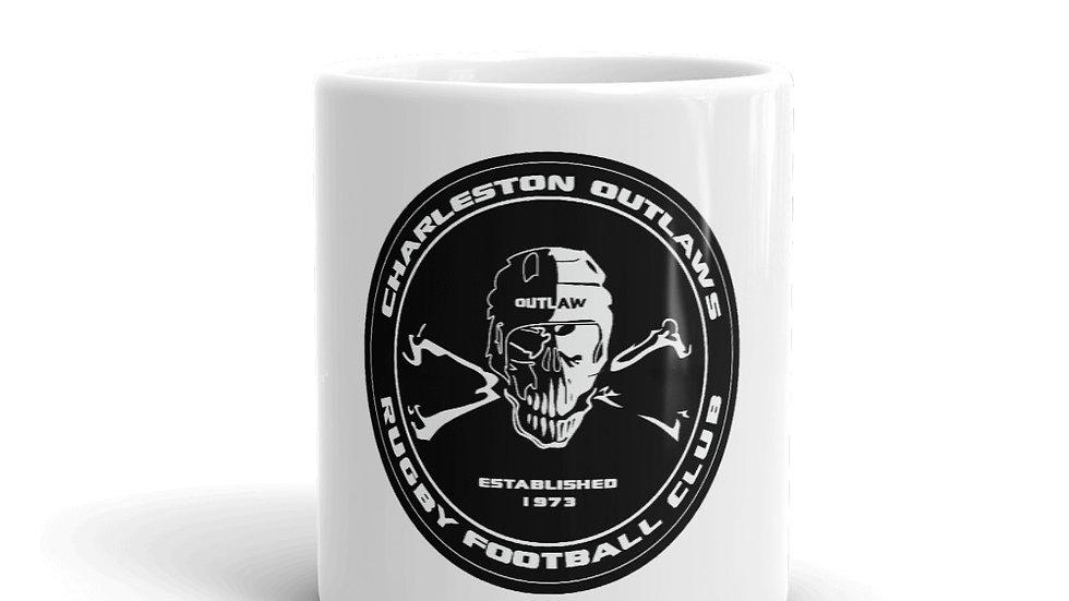 Outlaws Skull Logo Mug