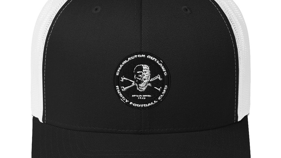 Outlaws Skull Logo Trucker Cap