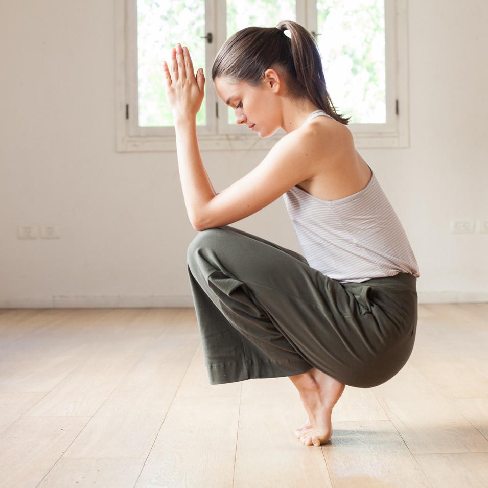 אנג'לי בגדי יוגה, צילומי אופנה