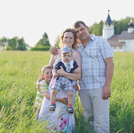 Организация семейной фотосъемки