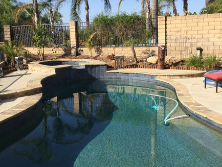 Keeping your pool sparkling clean