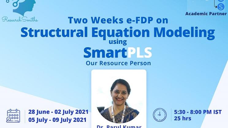 Advance Level FDP on SEM using SmartPLS (05-09 July 2021)