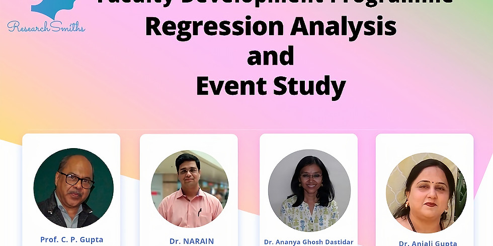 Regression Analysis and Event Study