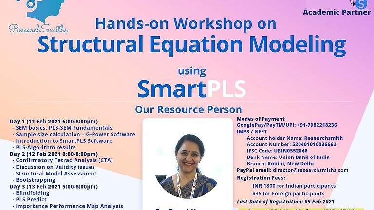 Hands-On Workshop on SEM using SmartPLS