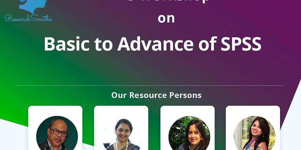 Basics to Advance of SPSS