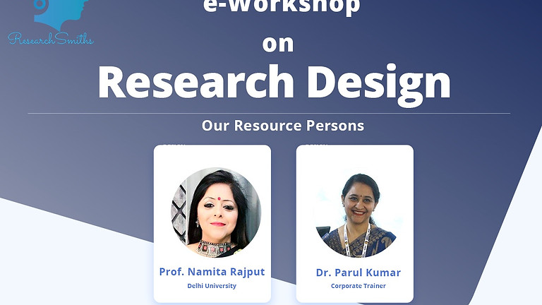 e-Workshop on Research Design