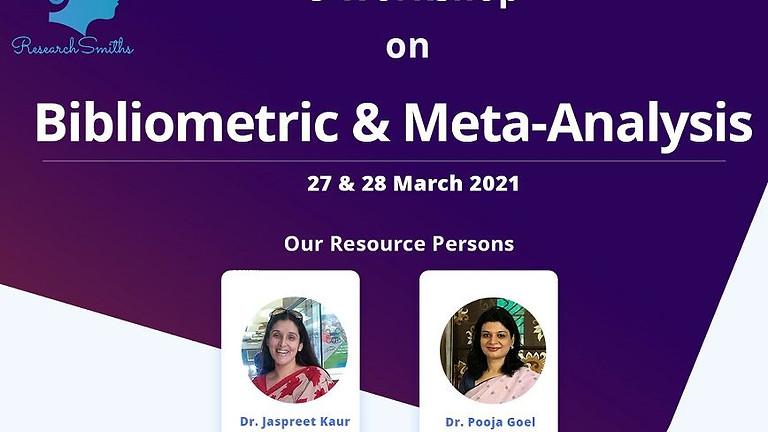 e-Workshop on Bibliometric & Meta-Analysis
