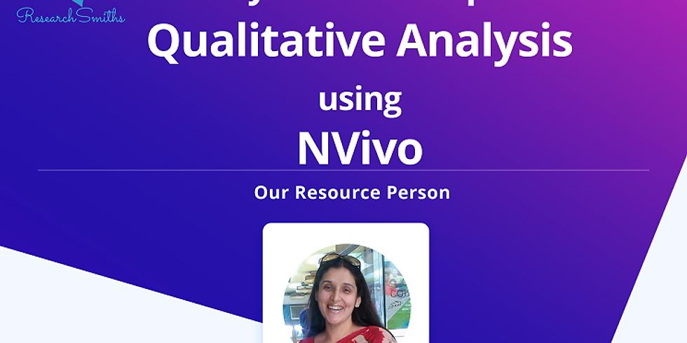 Qualitative Analysis using NVivo