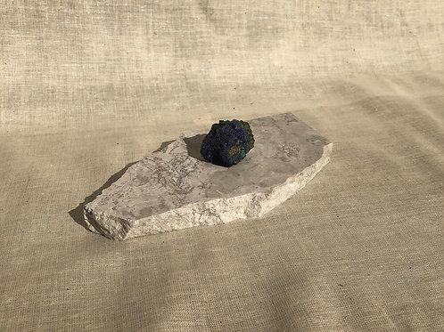 Rare and unusual Azurite specimen