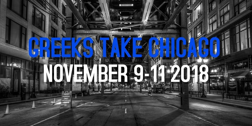 GREEKS TAKE CHICAGO
