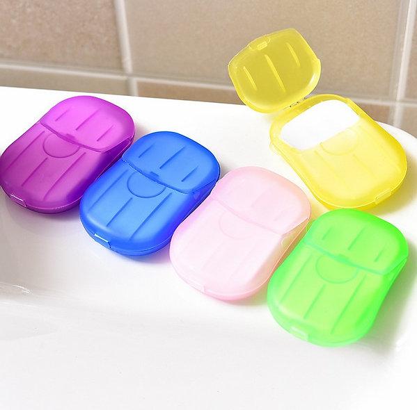 Čisté ruce-mýdlové papírky- 1ks/20 mýdlových papírků