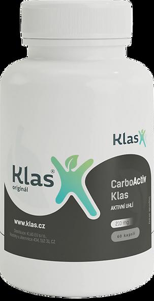 CarboActiv Klas 210 mg - 60kps